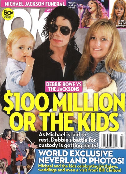 This Week In Tabloids: Michael's Drug & eBay Addiction; Twilight Star Put In Box