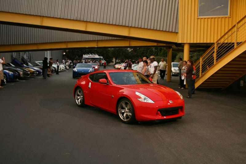 2009 Nissan 370Z Revealed Live With Details