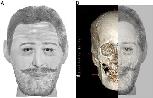 Four-hundred year old king's head identified