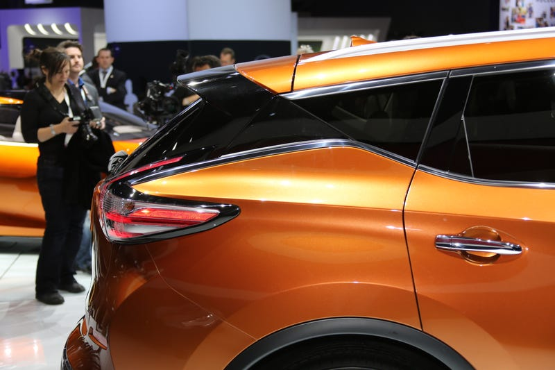 2015 Nissan Murano Is Striking In Person, And Not Just For A Crossover