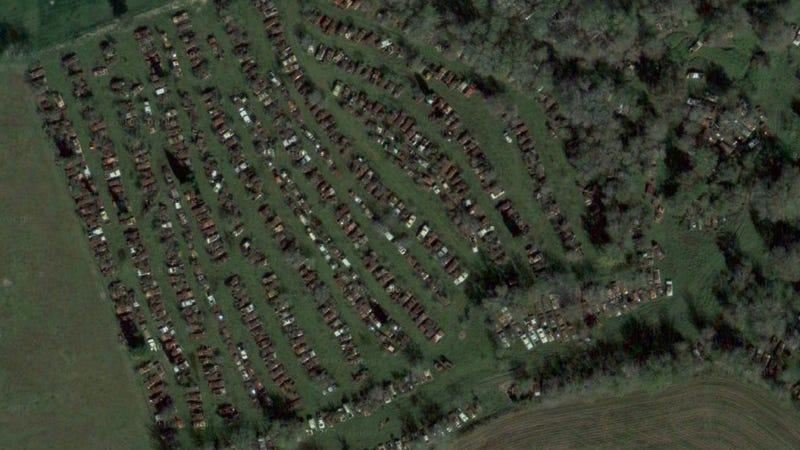 Hidden 1,000-vehicle junkyard heading for the crusher?