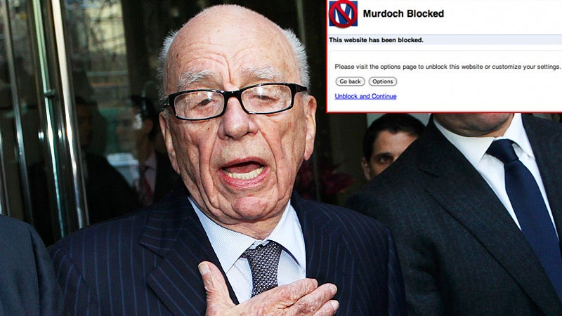 Never Visit a Murdoch Website Again with This Helpful Browser Add-On