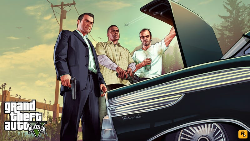 Fantastic Grand Theft Auto V Art Brightens Up Your Monday Morning