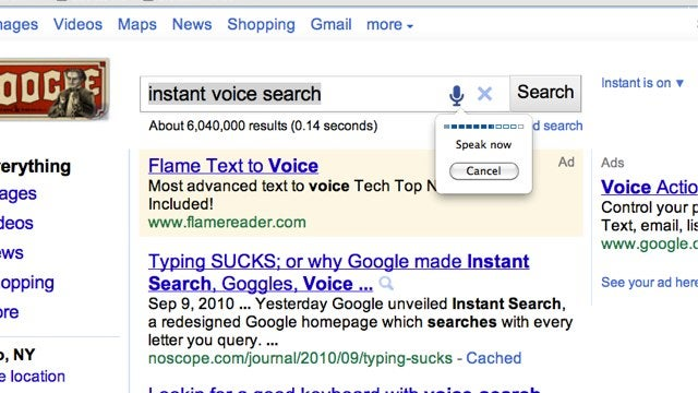 Speechify for Chrome Adds a Search-by-Voice Button to Major Sites