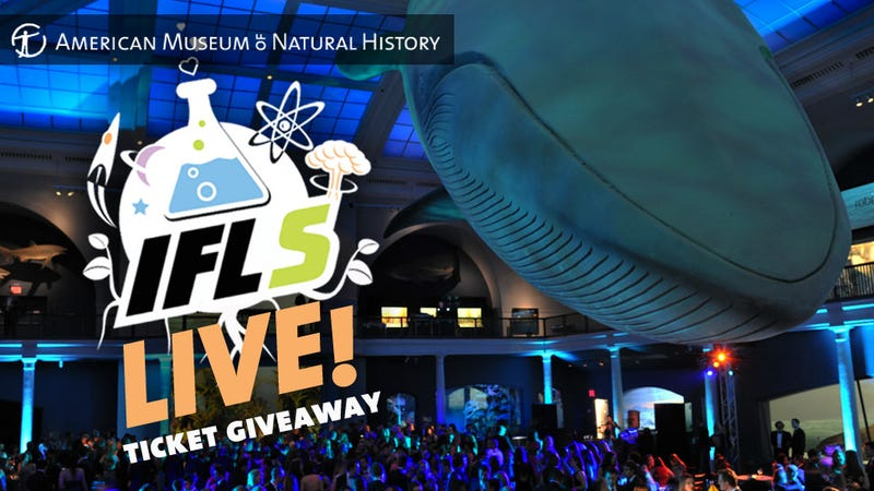Win Tickets to IFLS Live! at the American Museum of Natural History