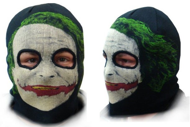 Joker Ski Mask Is Creepy In More Ways Than One