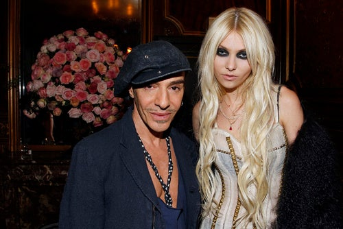 Taylor Momsen, You Are Next To John Galliano. Look Alive!