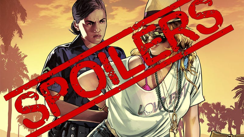 Rockstar Will (Try To) Rip GTA V Spoilers Clean Off YouTube