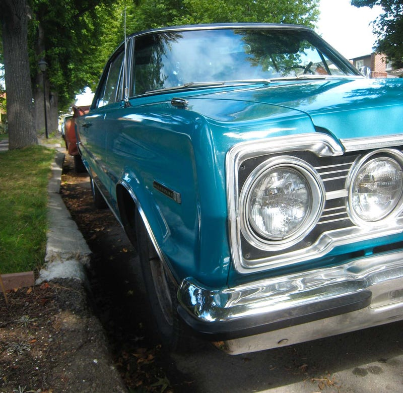 1967 Plymouth Belvedere II, with Bonus 1958 Dodge Pickup Bed Trailer