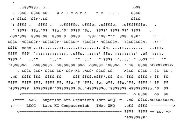 The Rise and Fall (and Rise) of ASCII Art