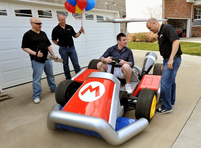 Even Banana Peels Can't Stop This Real-Life Mario Kart