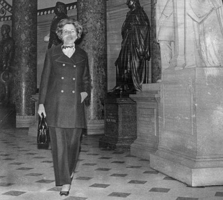 See The First Woman To Wear Pants In Congress In 1969
