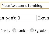 Back Up Your Tumblr Blog