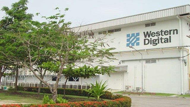 "Western Digital's HD Factory ""Submerged"" by Thai Flooding"