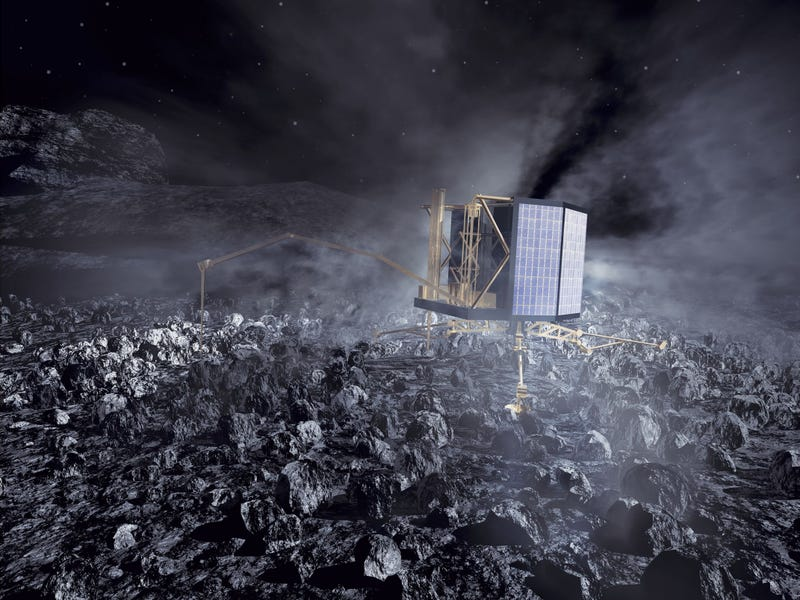 Comet-Chasing Rosetta's Interplanetary Travel Diary Is Awesome