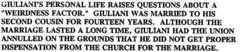 Rudy Giuliani Even Creepier Than You Thought