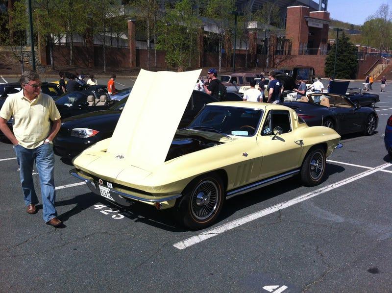 Judging The UVA Car Club Car Show