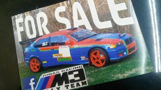 BMW rally car for sale