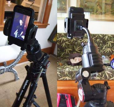There's Probably a Market for this DIY iPhone Tripod