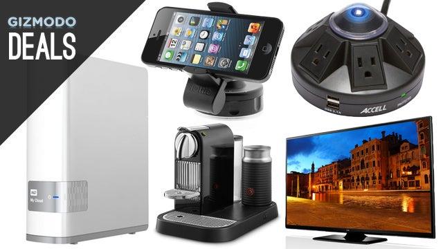 Deals: A Personal Cloud, Smartphone Dash Mounts, Last Gasp Plasma TV