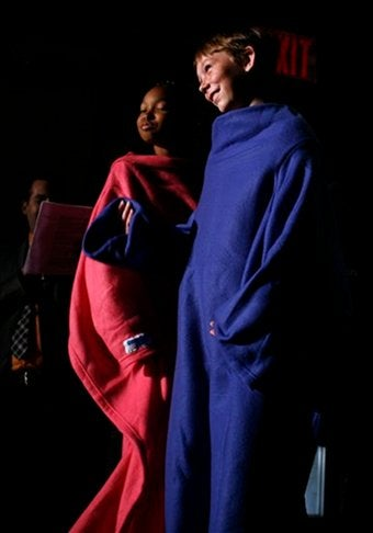 Fashion Week's Most Important Show: Snuggies