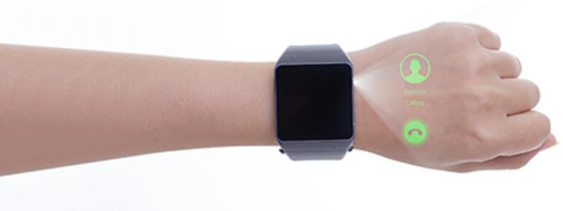 Smartwatch que proyecta películas