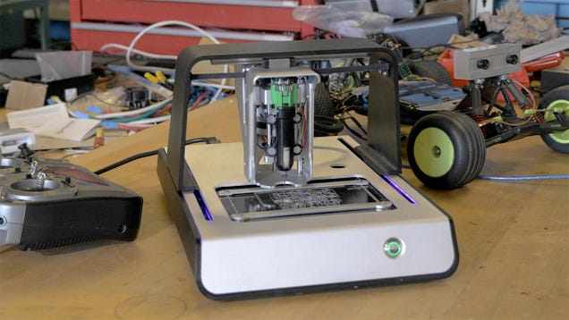 This Printer Churns Out Complex Double-Layered Circuit Boards