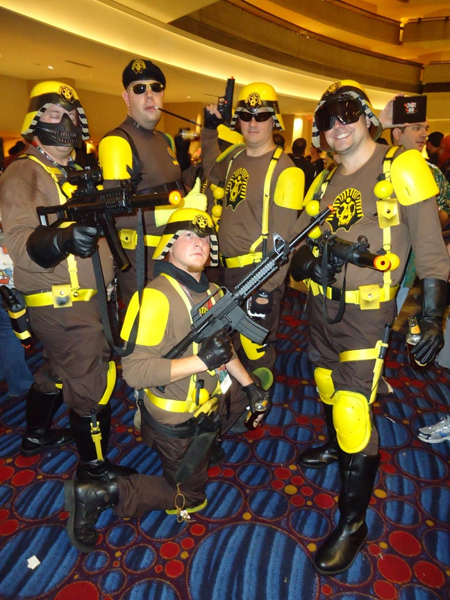 All the Coolest Costumes and Props We Saw at Dragon*Con!