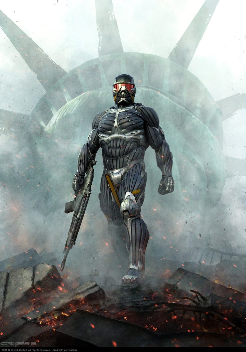 Crysis 2's Concept Art Is A Love Letter To New York City