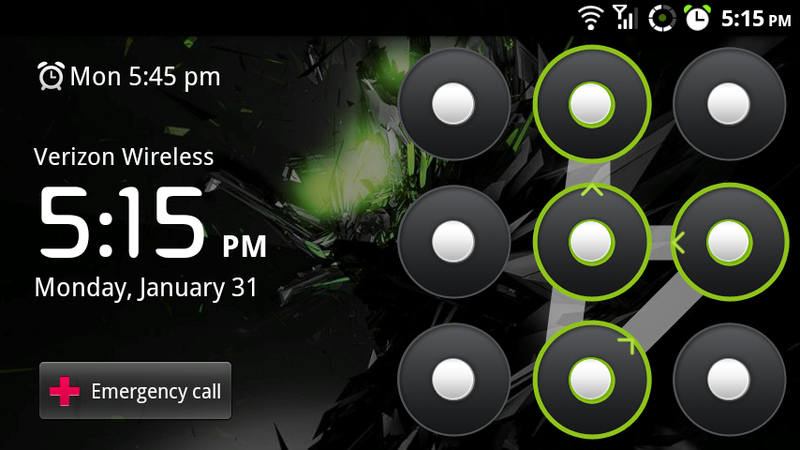 From the Tips Box: Android Lock Patterns, iPhone Alarms, and iTunes Slowdowns