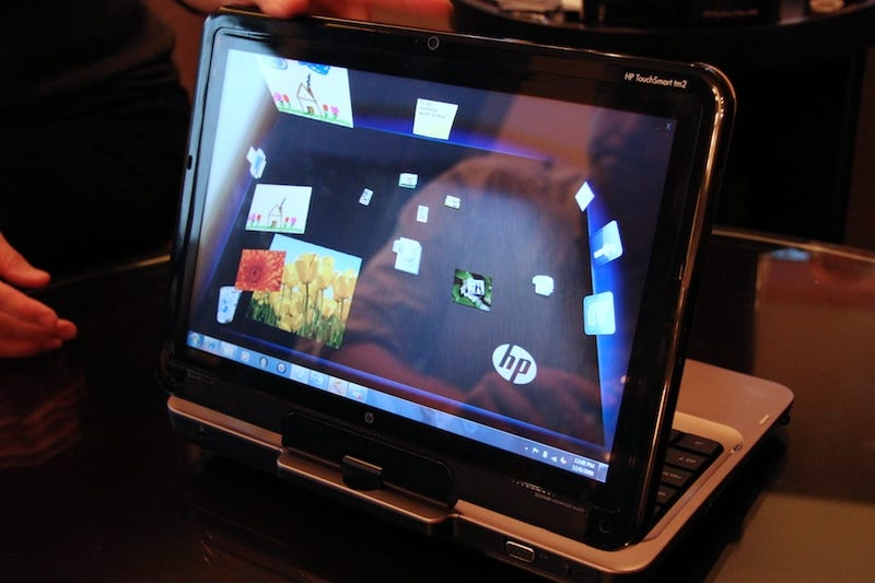 HP's TM2 Tablet: Finally Touchable