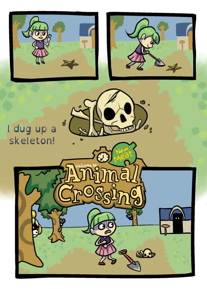 The Corrupt Animal Crossing Town