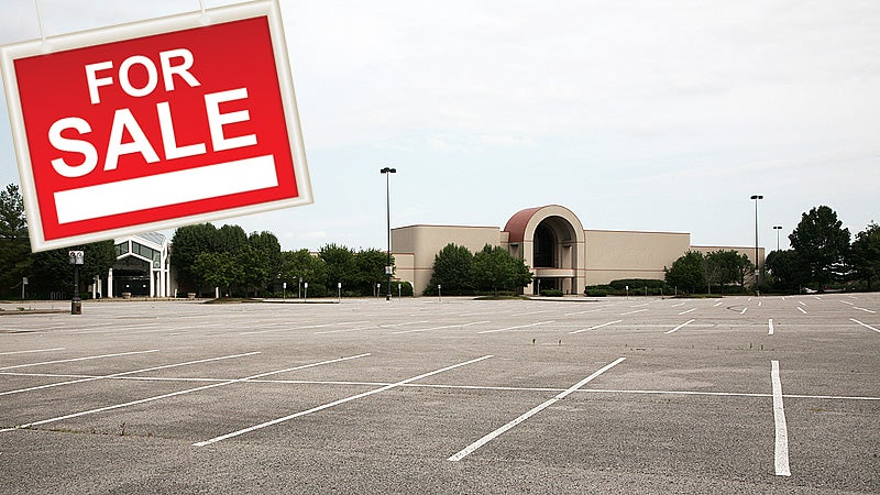 Anybody Wanna Buy a Shopping Mall?