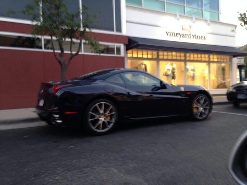 Ferrari California in it's natural habitat