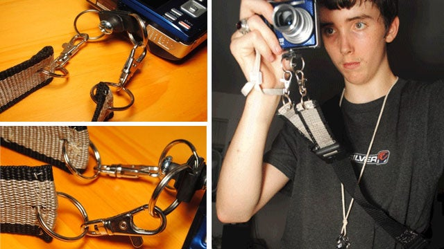 Make a Camera Glide Strap for Quick and More Stabile Shooting