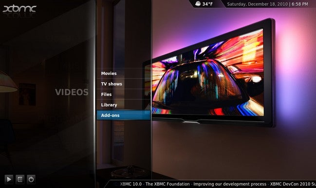 XBMC Updates to 10.0 Dharma, Rocks Awesome Add-on Support and Improved Graphic Acceleration