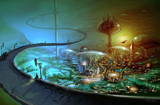 Cordwainer Smith concept art
