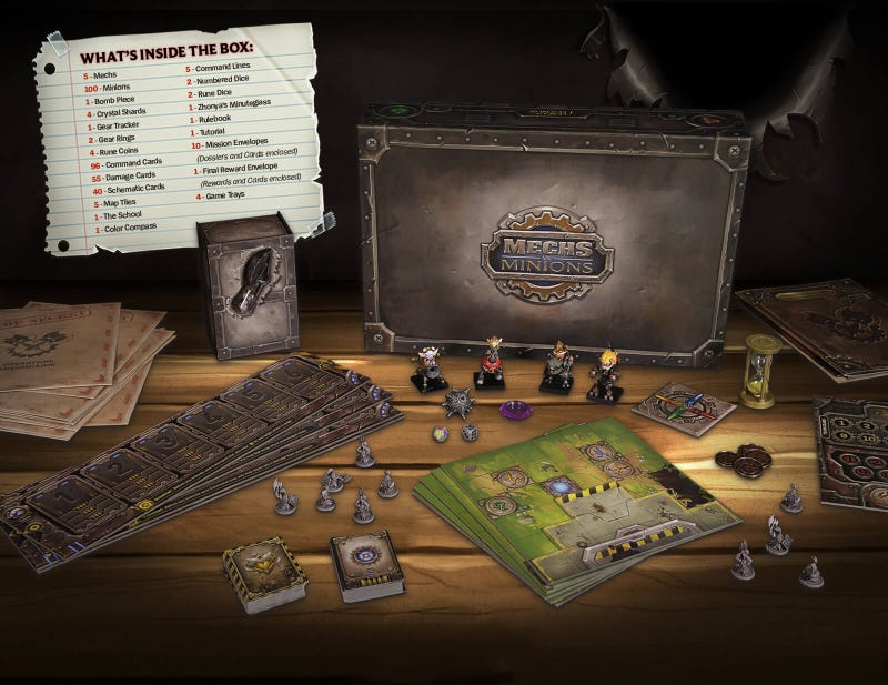League Of Legends Gets A Board Game, And It's Sick With Yordles