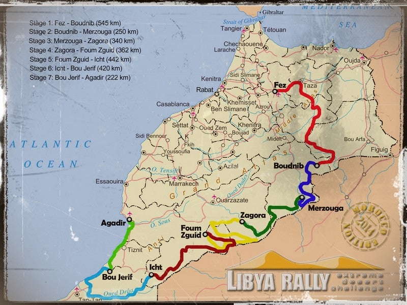 The Libya Rally, 1,500 Miles From Libya, Has The Coolest Trailer