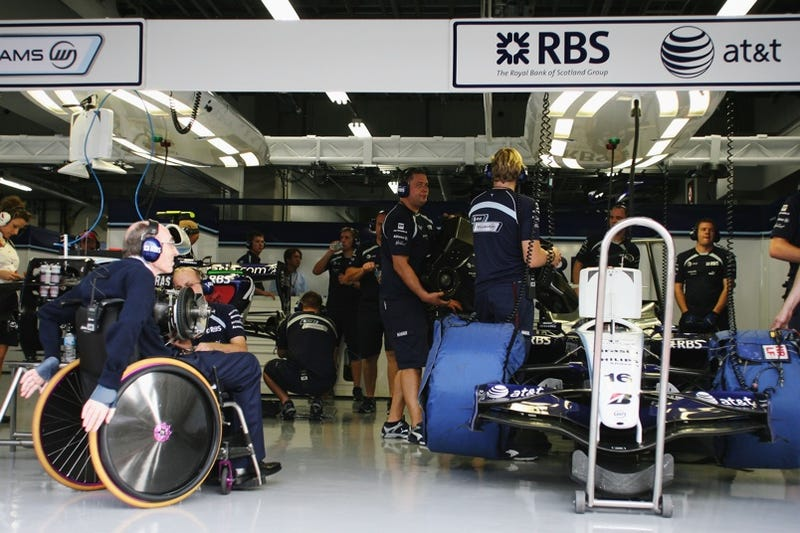 """Sir Frank Williams: """"I just love racing, I love speed. I love the noise."""""""