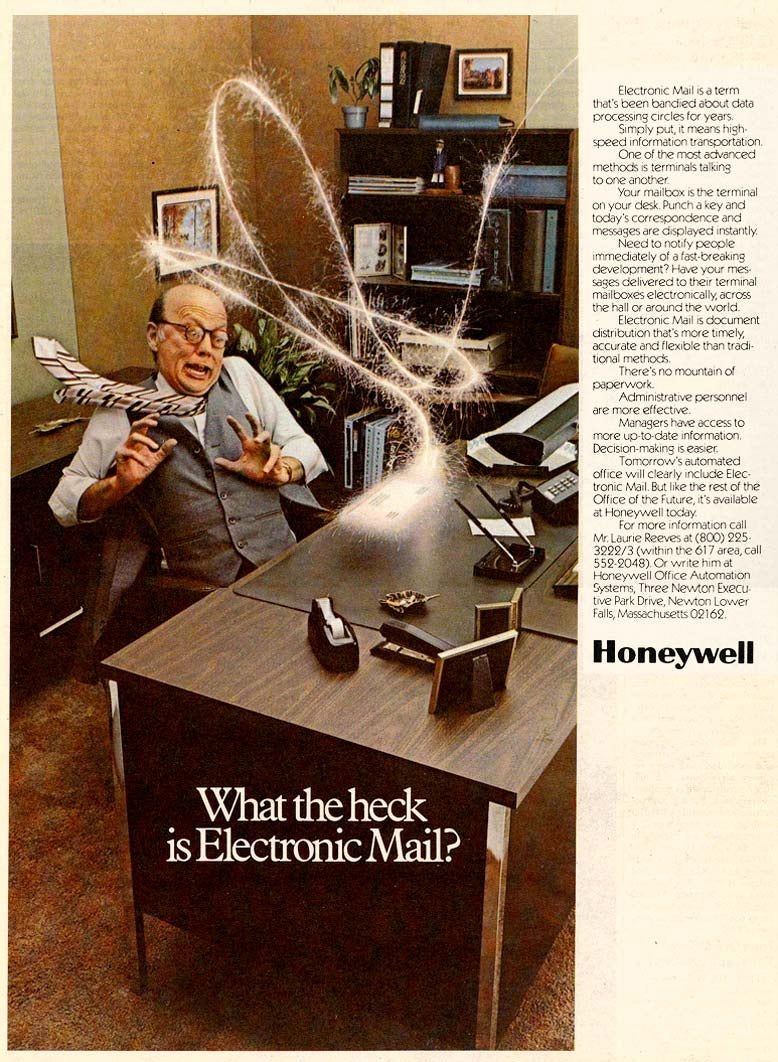 Holy Crap, Email Was Scary in the 1970s!