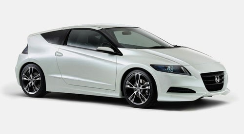 Honda CR-Z Gets Production-Intent Body For Tokyo