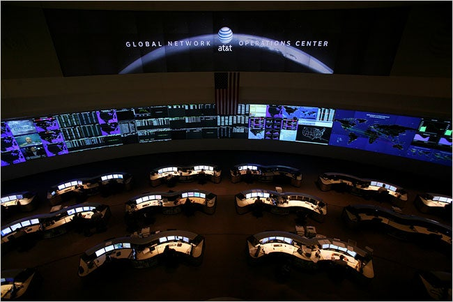 Inside AT&T's Global Network Operations Center: Where Calls Go to Die