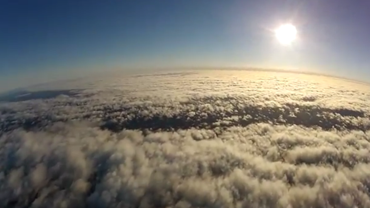 Watch This Glider Fall From the Edge of Space in First-Person