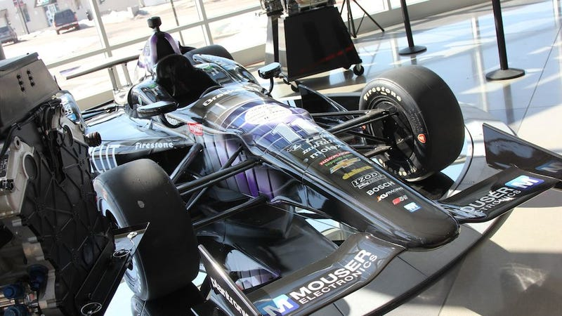 A sneak peek inside the one and only Indy Car factory