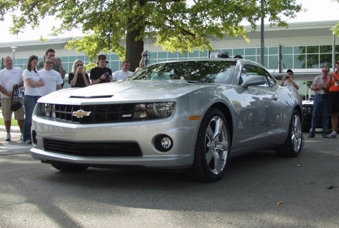 New Chevy Camaro SS Revealed, Officially And Underwhelmingly, At 2008 IndyBash