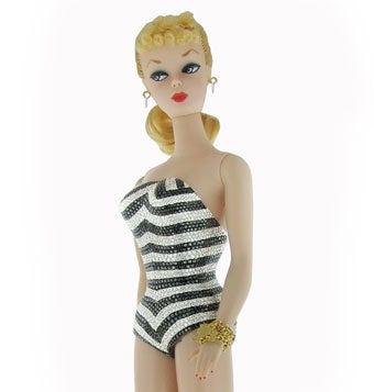 Diamond-Encrusted Barbie: A Girl's Best Friend