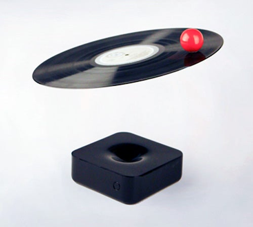 Magnetic Levitating Turntable Concept Looks Impractical, Amazing