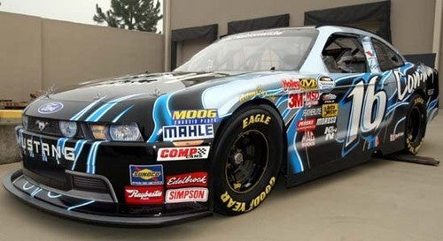 NASCAR Ford Mustang Revealed