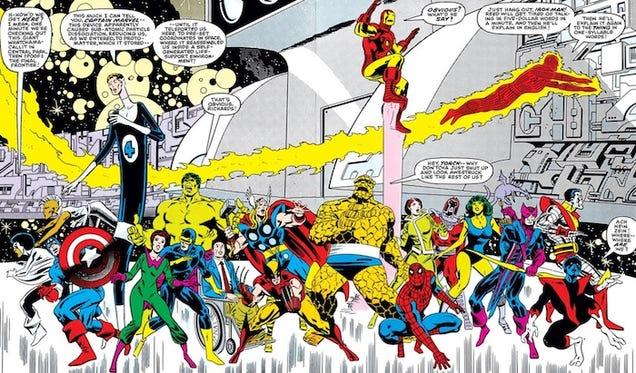 The Craziest Secrets Of Marvel's Original Secret Wars Comics